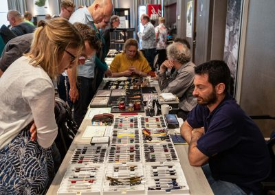 Overview sales room Dutch Pen Show 2019
